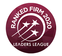 ranked firm 2020 leaders league